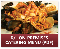 Download the Olivetto On-Premises Catering Menu (PDF)
